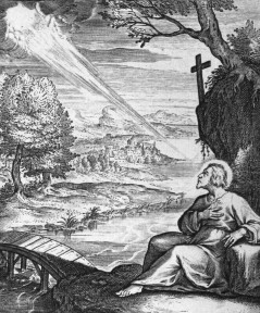 Ignatius' vision on the banks of the river Cardoner