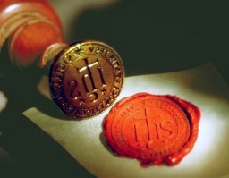 Wax seal of the Society of Jesus